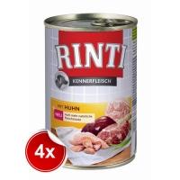 Pachet 4 Conserve Rinti cu Pui, 800 g