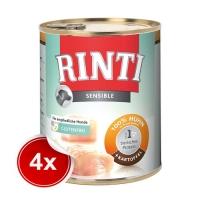 Pachet 4 Conserve Rinti Sensible Pui si Cartof 800 g