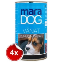 Pachet 4 Conserve Maradog cu Vanat 1.2 kg