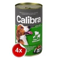 Pachet 4 Conserve Calibra Dog Vita Miel si Pui 1240 g