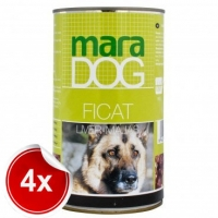 Pacahet 4 Conserve Maradog cu Ficat 1.2 kg