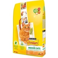 Friskies Cat Adult Indoor Pui si Legume, 10 Kg