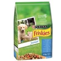 FRISKIES DOG JUNIOR CU PUI SI LEGUME, 8 KG