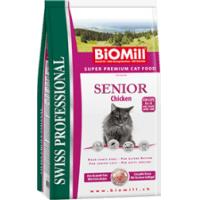 Biomill Swiss Professional Pisica Senior cu Pui, 10 kg