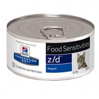 Hill's PD Feline z/d Ultra Allergen Free - Alergii la Hrana, 156 g