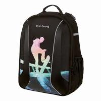Rucsac Be.Bag ergonomic dimensiune  34x39x19cm, motiv Airgo Halfpipe