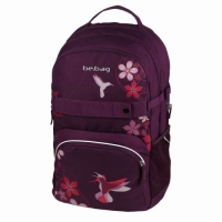 Rucsac Be.Bag ergonomic dimensiune 32x44x23cm, motiv Cube Free bird
