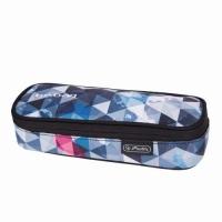 Necessaire Be.Bag Cube dimensiune 22,5x9,5x5cm, motiv Snowboard