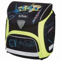 Ghiozdan ergonomic echipat, dimensiune 36x38x22 cm motiv Sporti Plus Spaceshuttle