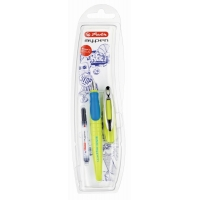 Stilou My.Pen penita M lemon/albastru intens  - blister