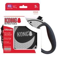 Lesa Retractabila Kong Ultimate 5m-70 Kg, Gri