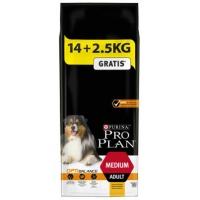 Pro Plan Adult Medium cu Pui 14 kg + 2.5 kg Gratis