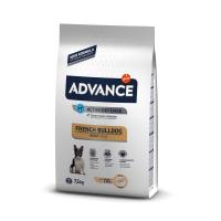 Pachet 2 x Advance Dog Bulldog Francez, 7.5 kg