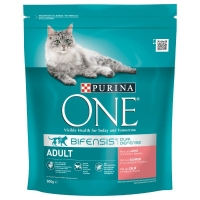 Purina ONE Somon & Cereale Integrale 800g