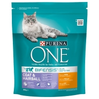 Purina ONE Coat&HAirball, 800 g