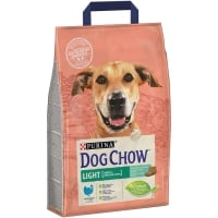 Dog Chow Adult Light Curcan, 2.5 kg