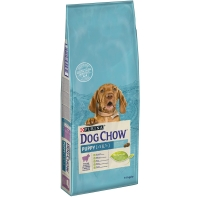 Pachet 2 x Dog Chow Puppy Miel 14 kg