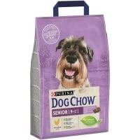 Dog Chow Senior Pui, 2.5 kg