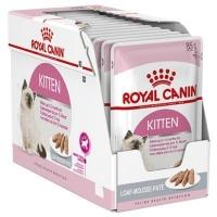 Pachet Royal Canin Kitten Loaf, 12 x 85 g