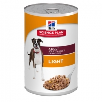 Hill's SP Canine Adult Light cu Pui, 370 g