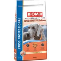 Biomill Swiss Professional Maxi Sensitive Somon, 12 kg