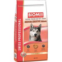 Biomill Swiss Professional Adult Mini Sensitive Somon, 1 kg