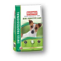 Biomill Swiss Professional Adult Mini Sensitive Miel, 12 kg