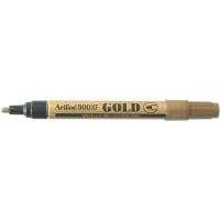 Marker cu vopsea varf rotund 2.3mm, corp metalic, ARTLINE 900XF - auriu