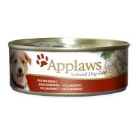 APPLAWS, File Pui și Orez, conservă hrană umedă câini, (în supă), 156g