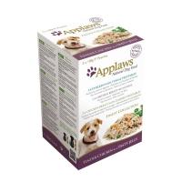 APPLAWS Finest, pachet mixt hrană umedă câini, (în aspic), 100g x 5