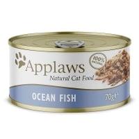 APPLAWS, Pește Oceanic, conservă hrană umedă pisici, (în supă), 70g