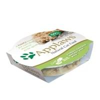 APPLAWS, Piept Pui și Orez, bol hrană umedă pisici, (în supă), 60g