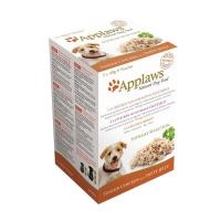 APPLAWS Supreme, pachet mixt hrană umedă câini, (în aspic), 100g x 5