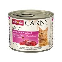 CARNY, Cocktail Carne, conservă hrană umedă pentru pisici, (In aspic), 200g