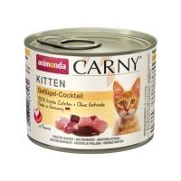 CARNY, Junior, Cocktail Pasăre, conservă hrană umedă pentru pisici, (In aspic), 200g