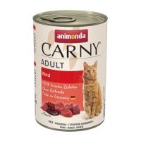 CARNY, Vită, conservă hrană umedă pentru pisici, (In aspic), 400g