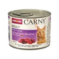 CARNY, Vită și Miel, conservă hrană umedă pentru pisici, (In aspic), 200g