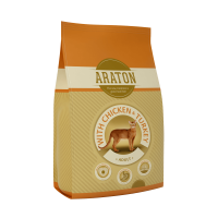 Araton Cat Adult Pui & Curcan, 1,5 Kg