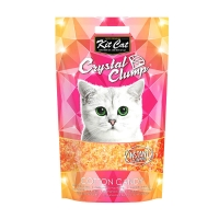 Asternut Igienic Pentru Pisici Kit Cat Crystal Clump Cotton Candy, 4 L