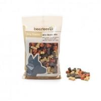 BEEZTEES Snack Mini Oase Mix, recompense câini, cu Pui, Miel și Somon, 150g
