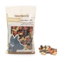 BEEZTEES Snack Mini Oase Mix, recompense câini, cu Pui și Somon, 150g