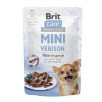 BRIT Care Mini, XS-S, File Vânat, plic hrană umedă câini, (în sos), 85g