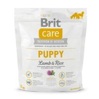 BRIT Care Puppy S-XL, Miel cu Orez, hrană uscată câini junior, 1kg