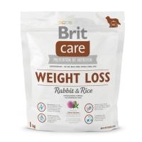 BRIT Care Weight Loss, Iepure cu Orez, hrană uscată câini, managemetul greutății, 1kg
