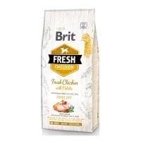 BRIT Fresh Great Life Adult S-XL, Pui cu Cartof, hrană uscată conținut redus cereale câini, 12kg
