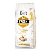 BRIT Fresh Great Life Adult S-XL, Pui cu Cartof, pachet economic hrană uscată conținut redus cereale câini, 12kg x 2