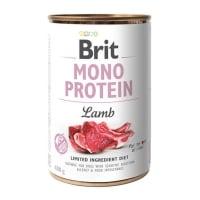 BRIT Mono Protein, Miel, conservă hrană umedă monoproteică fără cereale câini, (pate), 400g