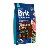 BRIT Premium By Nature Sensitive, Miel, hrană uscată câini, sensibilitați digestive, 8kg
