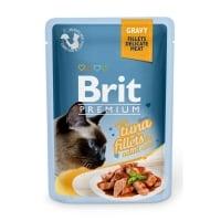 BRIT Premium, File Ton, plic hrană umedă pisici, (în sos), 85g