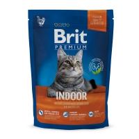 BRIT Premium Indoor, Pui, hrană uscată pisici de interior, 800g